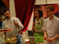 Demonstration cuisine Mathieu Menguy