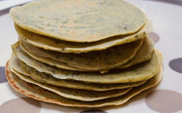 recette anti gaspi de pancake ou crepes aux légumes